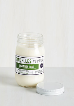 Take Scent-er Stage Candle in Lavender Sage