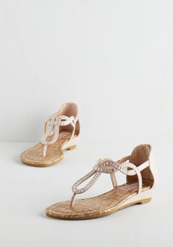 Sparkle of Genius Sandal in Rosewater