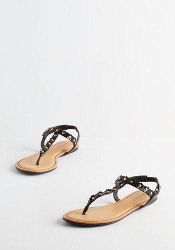 Posy on Over Sandal in Black