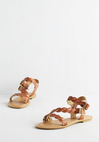 Plait for Keeps Sandal