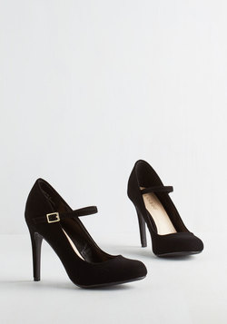 Shoe Had Me At Hello Heel in Noir