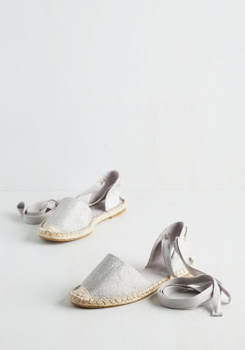 Easygoing, Going, Gone Flat in Silver