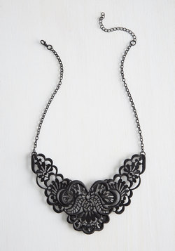 Photogenic Fretwork Necklace