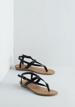 Gait Minds Think Alike Wedge in Noir