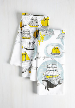 Argosy You Soon Tea Towel Set