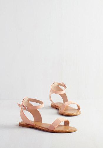 Lighthearted on Your Feet Sandal in Rose