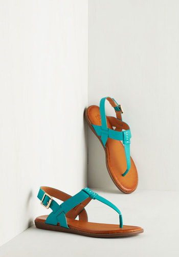 We've Yacht a Situation Sandal in Aqua