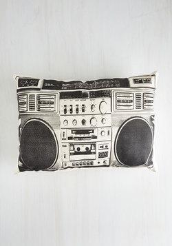 Boombox! Shake the Room Pillow