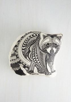 Slumber Party Animal Pillow in Raccoon