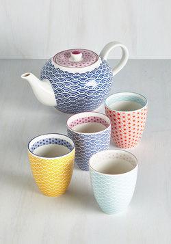 Oolong Time Coming Tea Set
