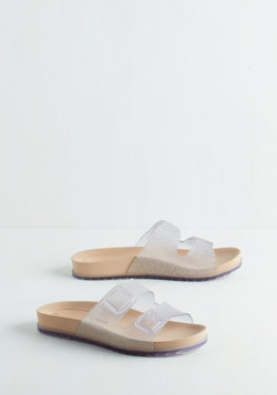 Water Perks Sandal in Clear