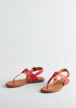 We've Yacht a Situation Sandal in Fuchsia