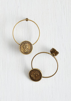 Currency Events Earrings