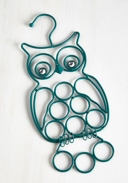 Home & Gifts - Owl Gussied Up Scarf Hanger