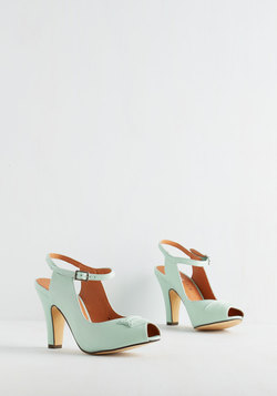 Say It With Sophistication Heel in Mint