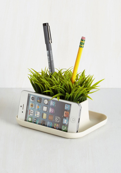 Lawn Your Marks Desk Organizer