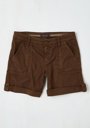 Lady and the Camp Shorts