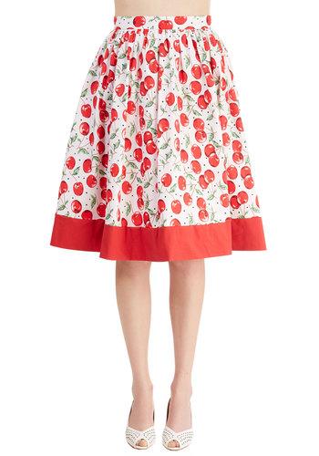 Cherry Turnover Skirt