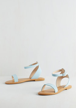 Lighthearted on Your Feet Sandal in Sky