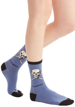 Skull Speed Ahead Socks
