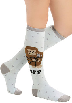 Monkey to My Heart Socks
