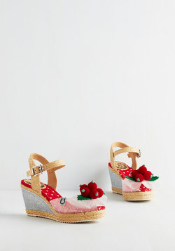 Cherry Season Wedges