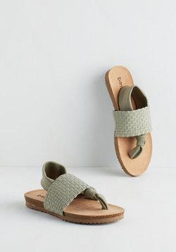Loop, There It Is Sandal in Sage
