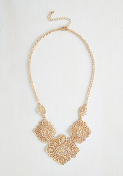 Filigree to the Brim Necklace