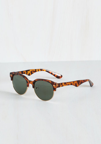 Wayfarer Art Thou? Sunglasses - Brown, Animal Print, Summer, Beach/Resort, Festival, Americana, Boho, Gals