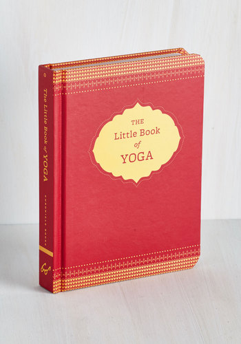 The Little Book of Yoga - Good, Red, Under $20, Top Rated, Gifts2015