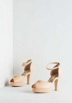 Beloved at First Sight Heel in Blush