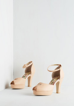 Beloved at First Sight Heel in Blush
