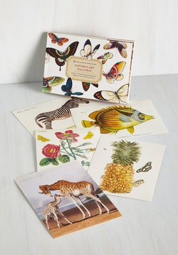 Nature's Art Postcard Book