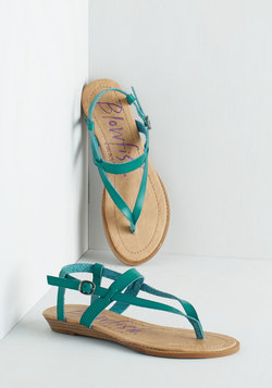 Gait Minds Think Alike Wedge in Teal