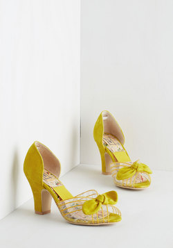 Just Be Cosmopolitan Heel in Citrus