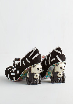 Irregular Choice Forever Panda Day Heel