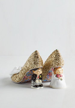 Irregular Choice All Dressed Nuptial Heel