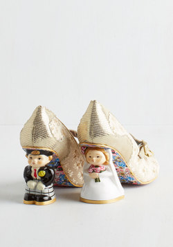 Irregular Choice Movin' On Nuptial Heel