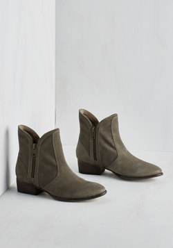 Lucky Penny Bootie in Stone