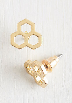Honeycomb by it Naturally Earrings