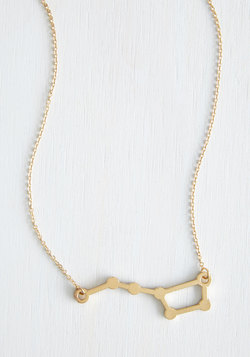Ursa Major League Necklace in Gold