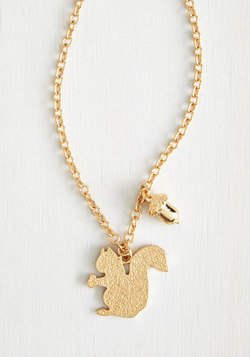 A Squirrel Like Me Necklace