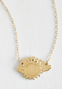 Walking with Sunshine Necklace