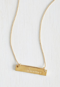 License to Dream Necklace