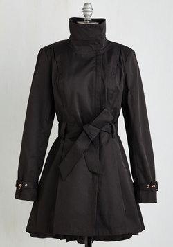 Class a Wrap! Coat in Black