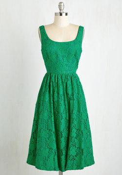 Vivaciously Verdant Dress