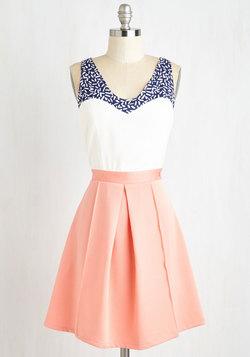 Shorefront Sherbet Dress