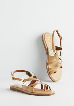 Will You Bay Mine? Sandals in Tan