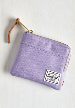 Pack on Track Wallet in Lilac