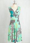Weekend Getaway Dress in Tropical
